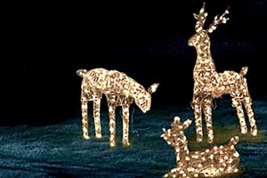 tips for decorating with outdoor solar powered christmas lights - Solar Christmas Decorations